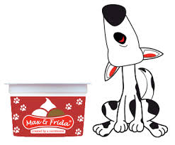 Max & Frida - all natural frozen dessert for dogs