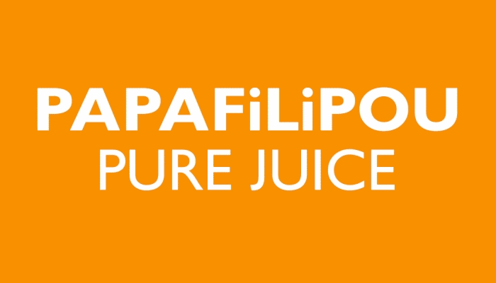 Papafilipou freshly squeezed quick frozen lemon juice for food, beverage and cooking